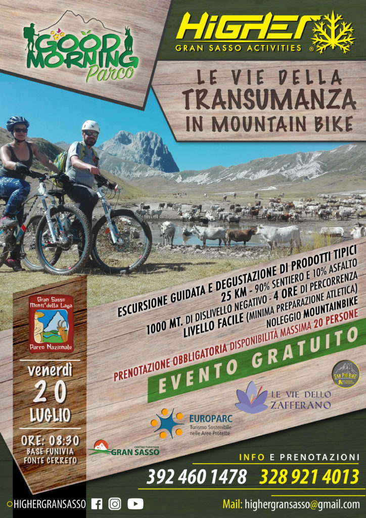 LE VIE DELLA TRANSUMANZA IN MOUNTAIN BIKE
